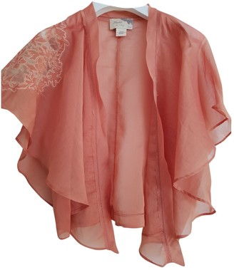 Elizabeth and James Pink Cotton Jacket for Women