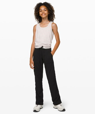 Lululemon Live To Move Pant Lined - Girls