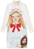Gucci Unskilled Worker silk dress