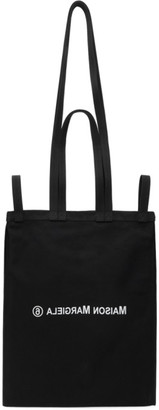MM6 MAISON MARGIELA Black Double Handle Tote Bag
