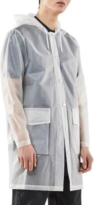 Rains Waterproof Hooded Raincoat