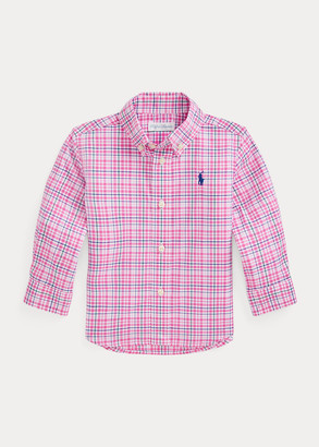 Ralph Lauren Tattersall Cotton Poplin Shirt