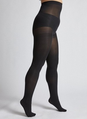 Dorothy Perkins Womens **Dp Curve Black 2 Pack 100 Denier Curve Tights, Black