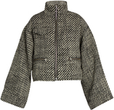 Marques Almeida MARQUES'ALMEIDA Oversized ring-pull bouclé jacket
