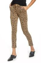 Frame Zip Cuff Cargo Skinny Jeans