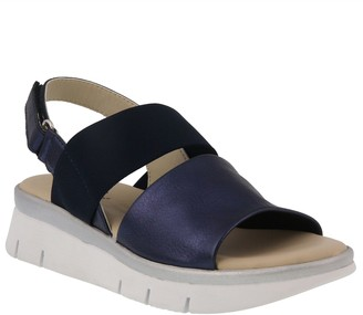 Spring Step Leather Slingback Sandals - Wetra
