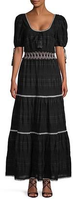 Jonathan Simkhai Tassel-Sleeve Dress