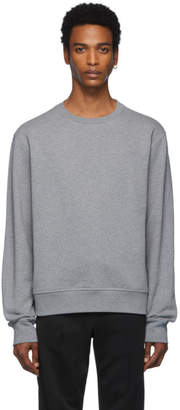 Maison Margiela Grey Decortique Elbow Patch Sweatshirt