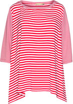 Isolde Roth Plus Size Striped jersey top