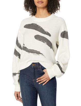 Joie Women's Long Sleeve Printed Sweater
