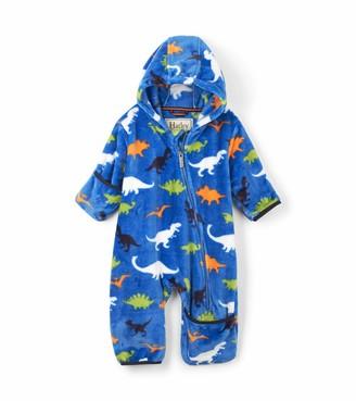 Hatley Baby Boys' Fuzzy Fleece Bundler Bodysuit
