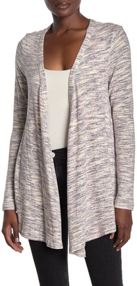 Bobeau Heathered Knit Cardigan