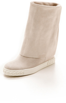 Casadei Reena Fold Over Boots