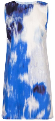 Carolina Herrera Superbloom Sleeveless Shift Dress