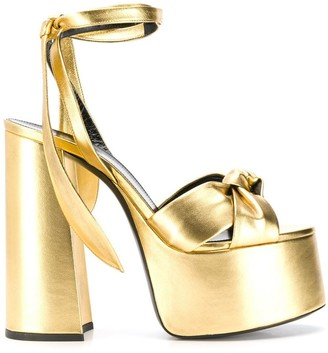 Saint Laurent Paige platform sandals