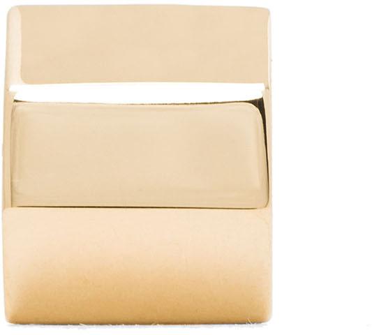 Chloé Babeth Brass Ear Cuff in Gold
