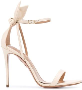 Aquazzura Delhi bow-embellished sandals