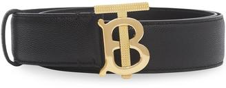 Burberry Logo Buckle Belt