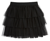 Aqua Girls' Tiered Mesh Skirt, Big Kid - 100% Exclusive