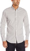 Dockers Long Sleeve Grid Comfort Stretch Woven Shirt