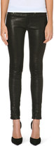 Rag & Bone Skinny mid-rise leather trousers