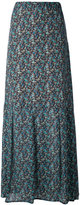Twin-Set floral print maxi skirt - women - Silk/Polyester/Viscose - 42