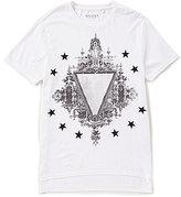 GUESS Short Sleeve Crest Crew Graphic T-Shirt