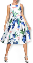 Babel Fair Floral Cut Out Dress