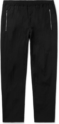 Stella McCartney Slim-Fit Tapered Cotton Drawstring Trousers