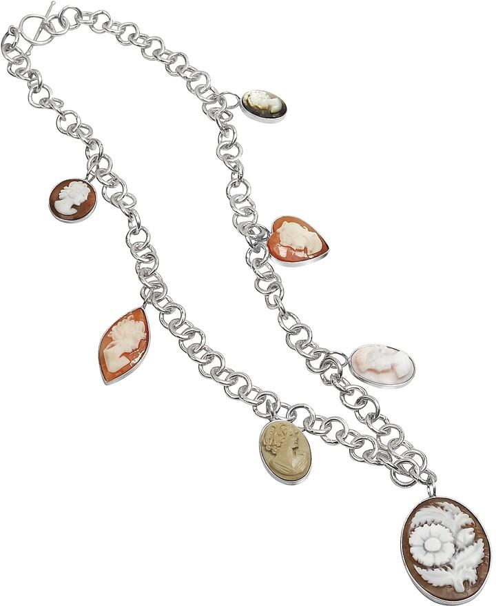Mia & Beverly Cameo Charm Necklace