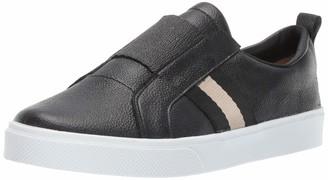 Kaanas Women's Positano Slip ON Elastic Leather Fashion Sneaker