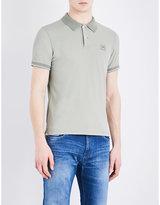 Cp Company Slim-fit Stretch-cotton Polo Shirt