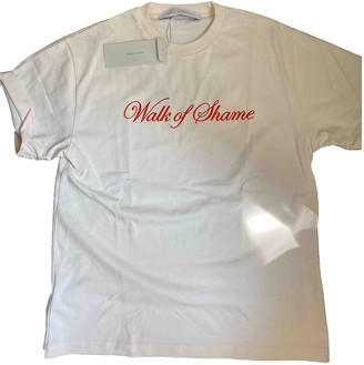 Walk of Shame Beige Cotton Top for Women