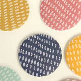 Louise Brainwood Seeded Pattern Large Pocket Mirror
