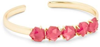 Kendra Scott Nash 14K Gold Plated Glass Bangle Bracelet