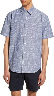 Club Monaco Slim Fit Agave Print Shirt