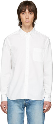 Beams White Poplin Shirt
