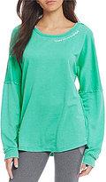 Jadelynn Brooke Happy Girls Tie Back Sweatshirt
