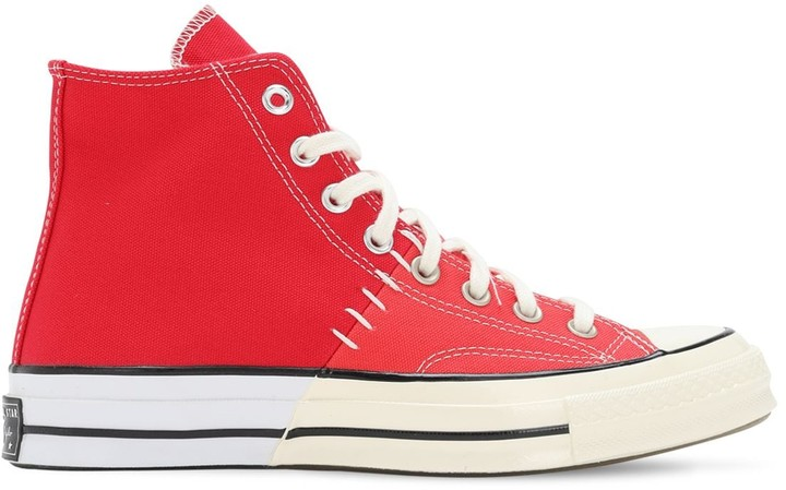 converse red bottoms