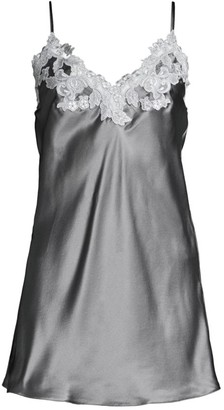 La Perla Maison Lace Satin Silk Sleep Dress