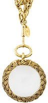Chanel Magnifying Glass Pendant Necklace