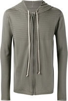 Rick Owens textured hoodie - men - Virgin Wool - L