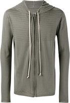 Rick Owens textured hoodie - men - Virgin Wool - S