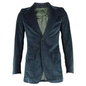 Ted Lapidus Blue Velvet Jackets