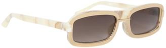 Linda Farrow x Y/Project Tortoiseshell Sunglasses