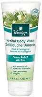 Kneipp Mint and Eucalyptus Sinus Relief Body Wash 6.8oz