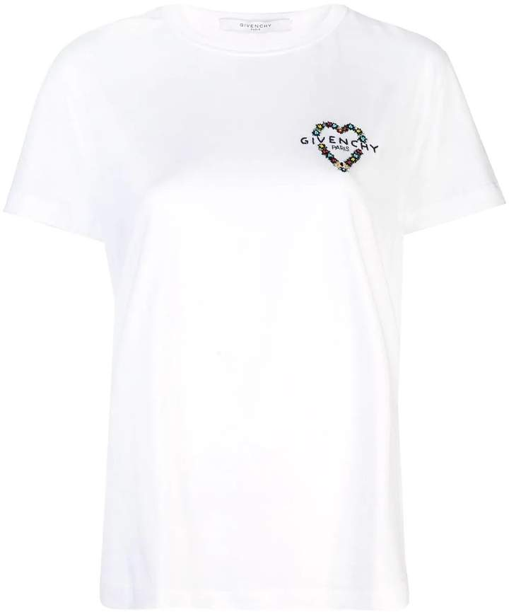 5e6268bebfd chest logo t-shirt white