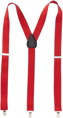 Status Men's Tall Plus Size Suspenders 11/4 Inch 3 Clip Traditional LookPin Clip Closure