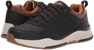 Skechers Relaxed Fit Benago - Treno (Black) Men's Shoes