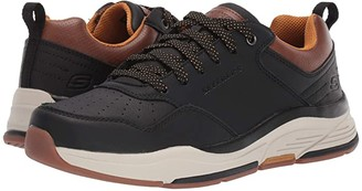 Skechers Relaxed Fit Benago - Treno (Black) Men's Shoes